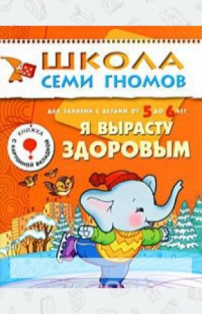 Денисова Я вырасту здоровым. Для занятий с детьми от 5 до 6 лет