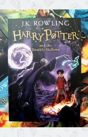 Джоан Роулинг Книга Harry Potter and the Deathly Hallows