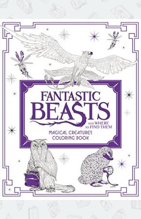 Книга-раскраска Fantastic Beasts and Where to Find Them: Magical Creatures Colouring Book (Out of print)