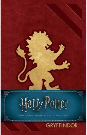 Блокнот Harry Potter: Gryffindor Ruled Journal