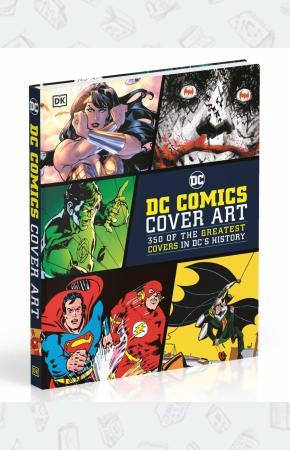 Книга DC Comics Cover Art