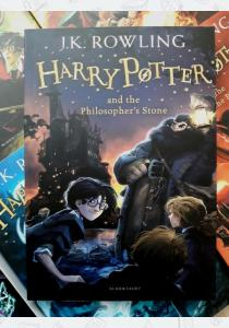 Джоан Роулинг Книга Harry Potter and the Philosopher's Stone