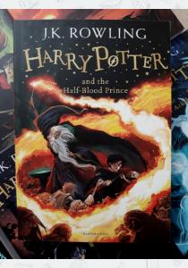 Джоан Роулинг Книга Harry Potter and the Half-Blood Prince