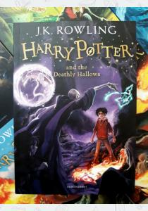 Джоан Роулинг Книга Harry Potter and the Deathly Hallows