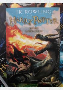 Джоан Роулинг Книга Harry Potter and the Goblet of Fire