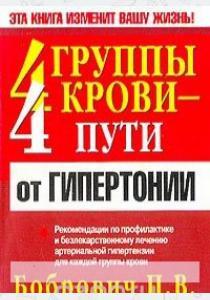 Павел Викторович Бобрович 4 группы крови - 4 пути от гипертонии
