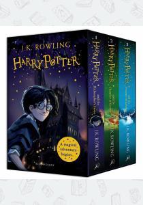 Джоан Роулинг Harry Potter: A Magical Adventure Begins Box Set (Book 1-3)