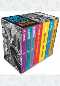 Джоан Роулинг Комплект 7 книг Harry Potter: The Complete Collection Box Set (Adult Edition)
