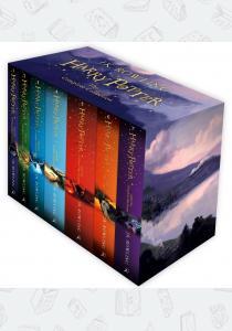 Джоан Роулинг Комплект 7 книг Harry Potter: The Complete Collection Box Set (Children's Edition)