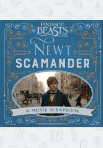 Книга Fantastic Beasts and Where to Find Them – Newt Scamander: A Movie Scrapbook