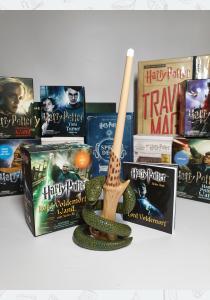 Палочка Гарри Поттера Волан-де-Морта с набором наклеек: загорается!
