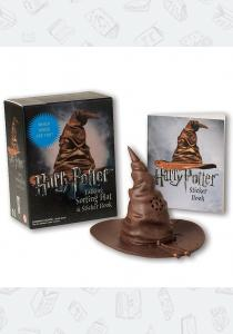 Игрушка Harry Potter: Talking Sorting Hat and Sticker Book: Which House Are You?