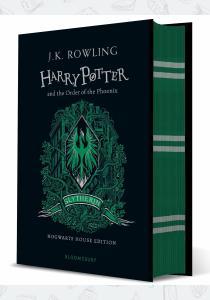 Джоан Роулинг Книга Harry Potter and the Order of the Phoenix (Slytherin Edition)