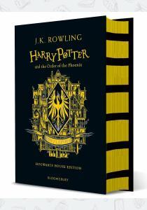 Джоан Роулинг Книга Harry Potter and the Order of the Phoenix (Hufflepuff Edition)