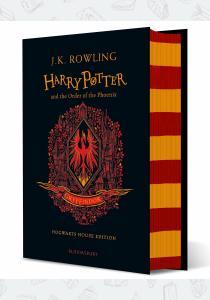Джоан Роулинг Книга Harry Potter and the Order of the Phoenix (Gryffindor Edition)