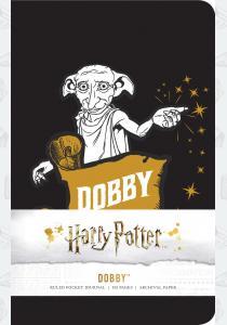 Блокнот Harry Potter: Dobby Ruled Pocket Journal