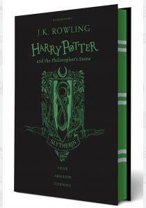 Джоан Роулинг Книга Harry Potter and the Philosopher's Stone (Slytherin Edition)