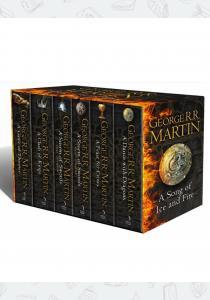 Мартин Д. Комплект книг A Song of Ice and Fire Box Set (6 Volumes)
