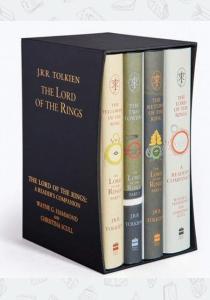 Толкин Д.Р.Р. Комплект книг The Lord of the Rings Boxed Set (60th Anniversary Edition)
